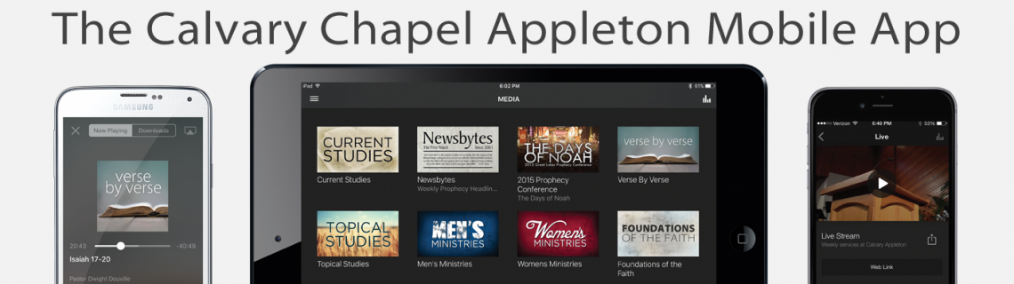 The Calvary Appleton App